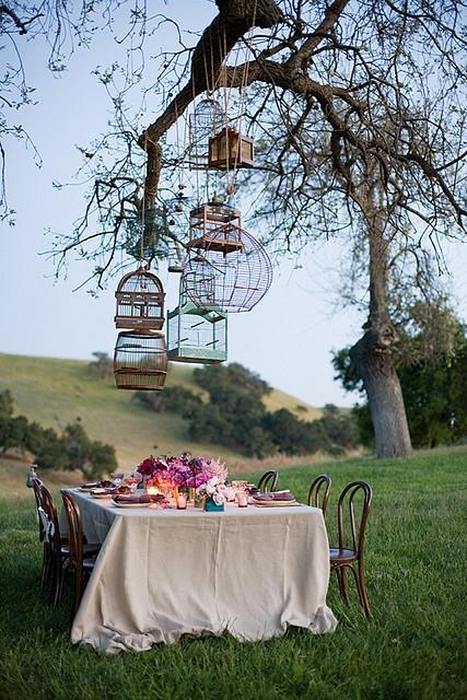 Almoço na paisagem