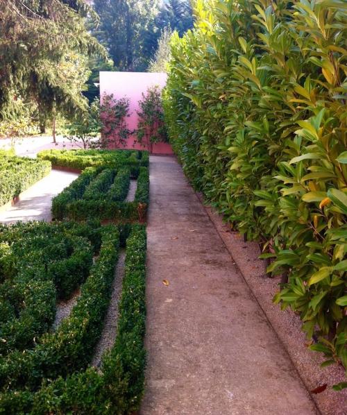 Jardim no centro do Porto