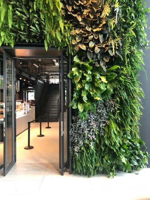 Parede verde Porto Office Park